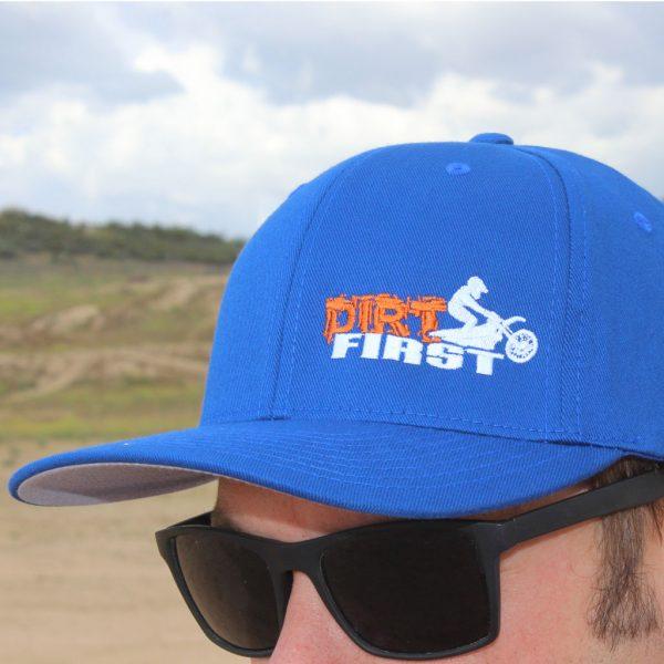 Dirt First Cap Front