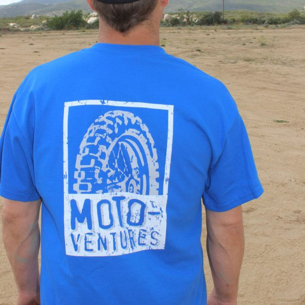 MotoVentures Wheel T-Shirt Back
