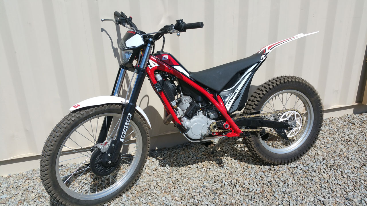 MOTOVENTURES Gas Gas Trials Bike - Image 1