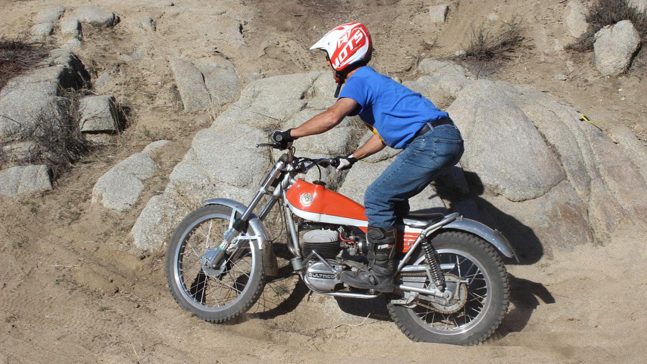 1970 Bultaco Sherpa T Motorcycle