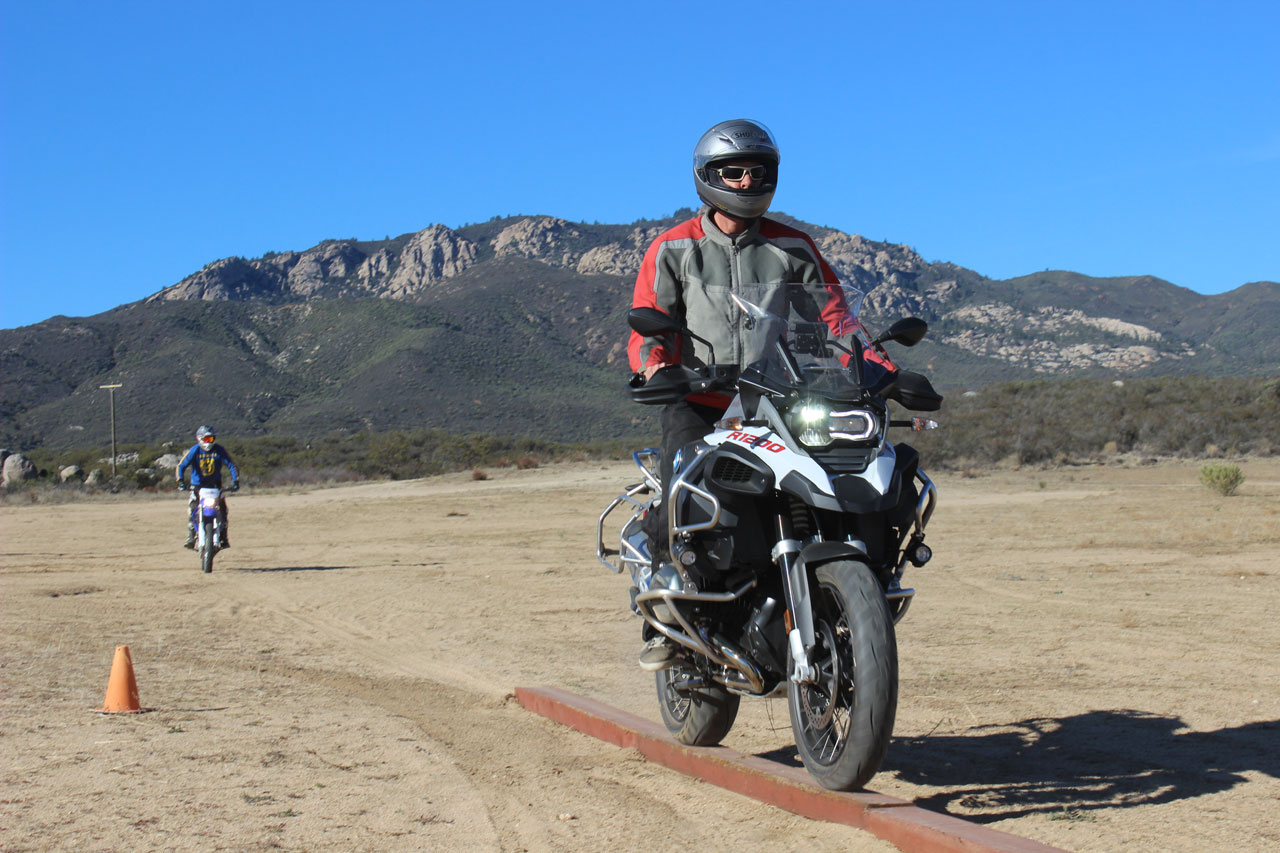Beam Ride on Motorcycle
