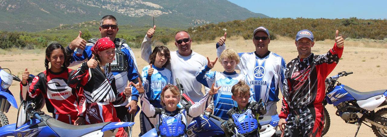 Family Fun Riding Motorcycles at MOTOVENTURES