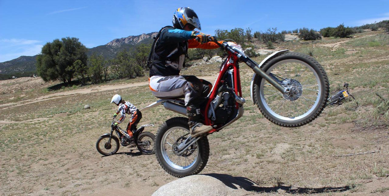 Motorcycle Climbing Techniques