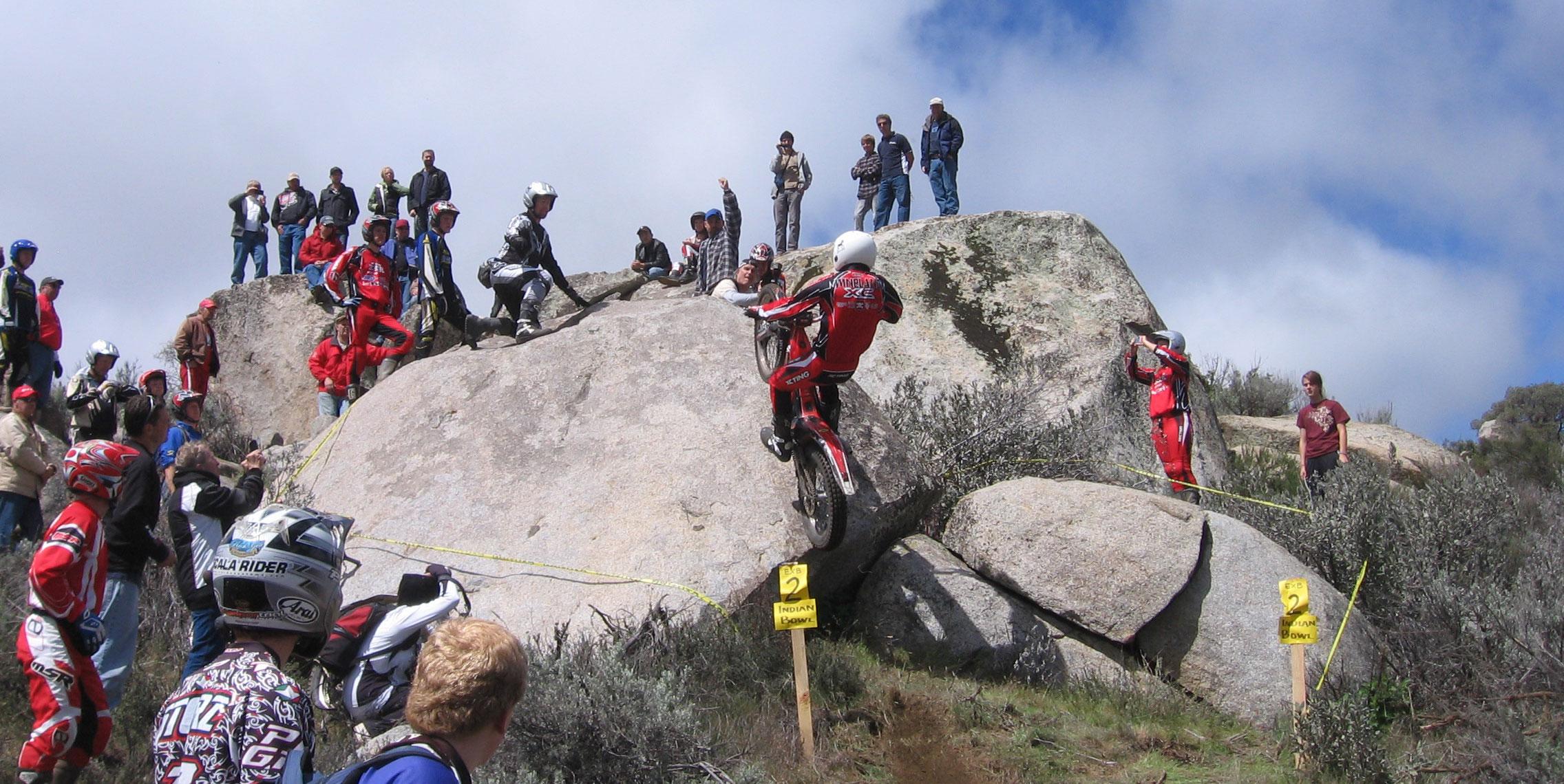 Motorcycle Rock Crawling