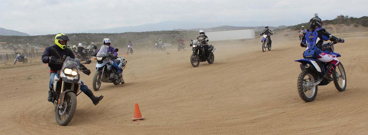 Motorcycle Turning Drills