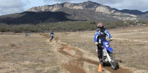 Slalom Fun on Motorcycles