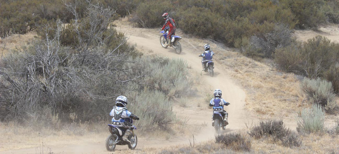 Trail Riding on Motorcycles