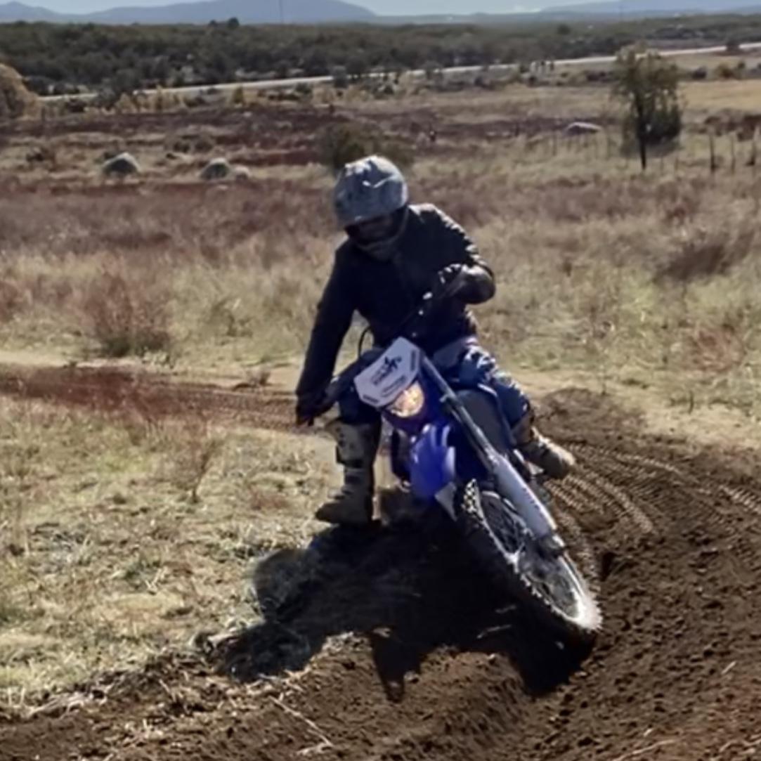 Dirt Bike Motorcycle Berm Corner
